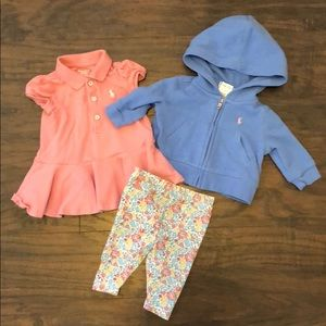 Ralph Lauren Baby Girl Outfit and Jacket
